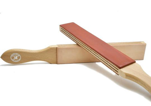 JB Tatam red, untreated paddle strop