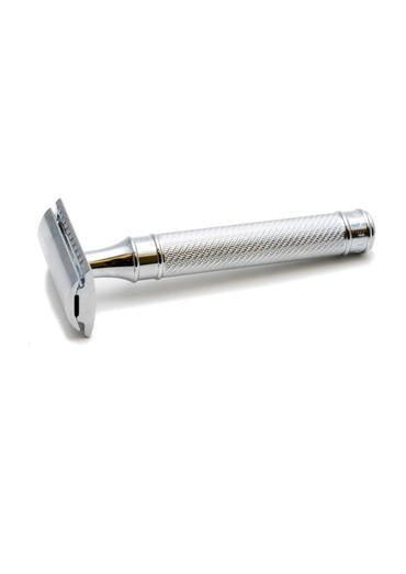Muhle R89 G traditional metal handle double edge safety razor