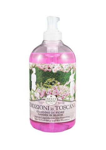 Nesti Dante emozioni in Toscana garden in bloom liquid soap