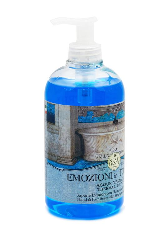 Nesti Dante emozioni in Toscana thermal water liquid soap