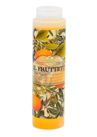 Nesti Dante olive oil and tangerine il frutteto shower gel