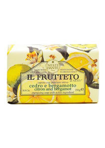Nesti Dante il frutteto citrus and bergamot soap