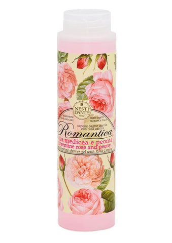 Nesti Dante romantica florentine rose and peony shower gel