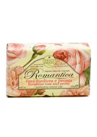 Nesti Dante romantica soap scented with Florentine rose and peony