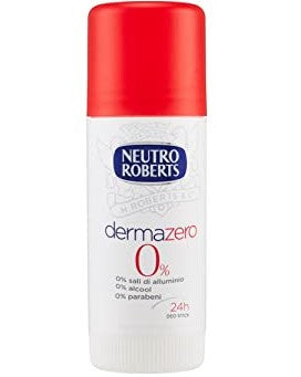 Neutro Roberts, 0% Alcohol DEODORANT Stick, 40ml