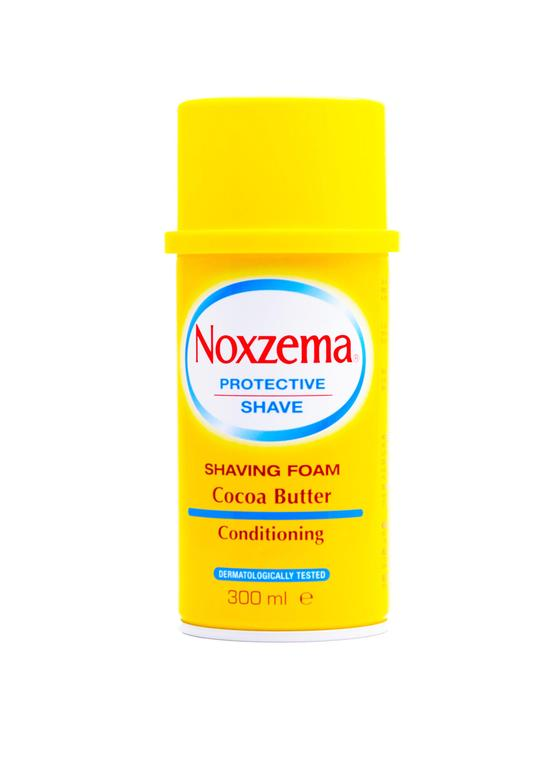 Noxzema cocoa butter shaving foam