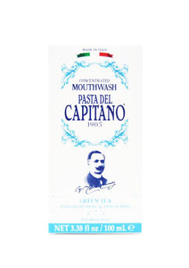 Pasta del Capitano green tea mouthwash