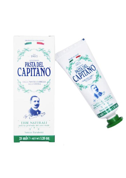 Pasta del Capitano natural herb toothpaste 25ml