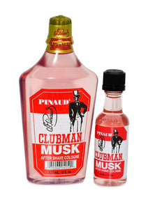 Pinaud Clubman musk after shave colognes