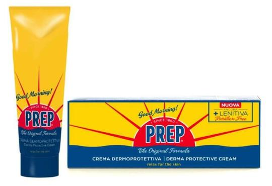 Prep derma protective cream in a tube