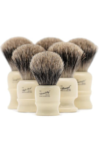 Progress Vulfix pure badger shaving brushes