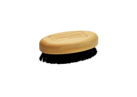 Proraso military style wooded beard brush with natural bristles