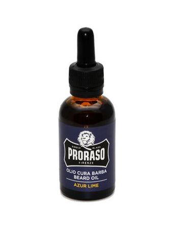 Proraso azur lime scented beard oil