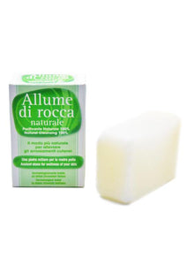 Sal natural alum block 100g