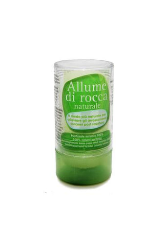120 gram Sal natural alum deodorant closed