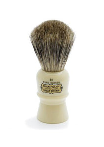 Simpson B1 shaving brush with Beaufort pure badger bristles