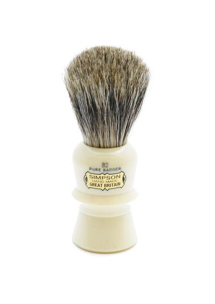 Simpson B2 shaving brush with Beaufort pure badger bristles