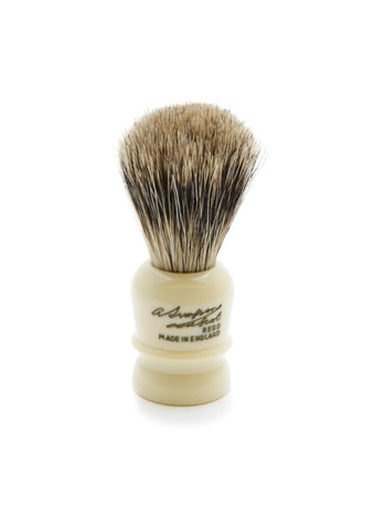 Simpson Wee Scot shaving brush with best badger bristles