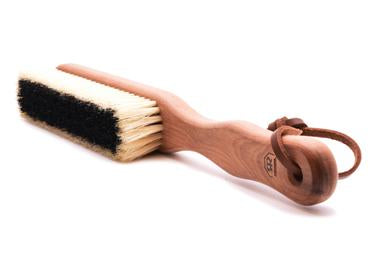 St James Shaving Emporium cashmere clothes brush on its side