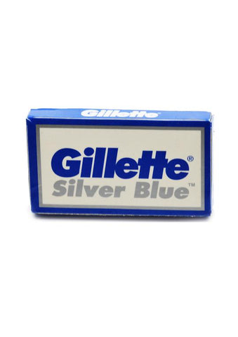Gilette, BLADES silver blue (Pack of 50)