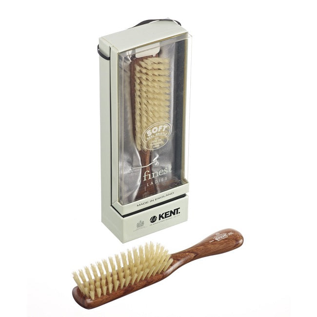 Kent, HAIR BRUSH Soft Pure Bristles DA4S