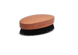 St James Shaving Emporium military style beard and hair brush with natural bristles