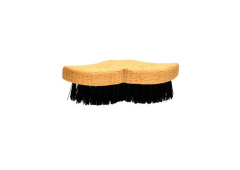 St James Shaving Emporium moustache brush with natural bristles