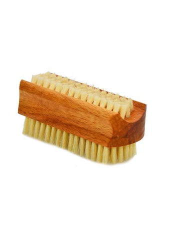 St James Shaving Emporium oiled beechwood nail brush with natural bristles