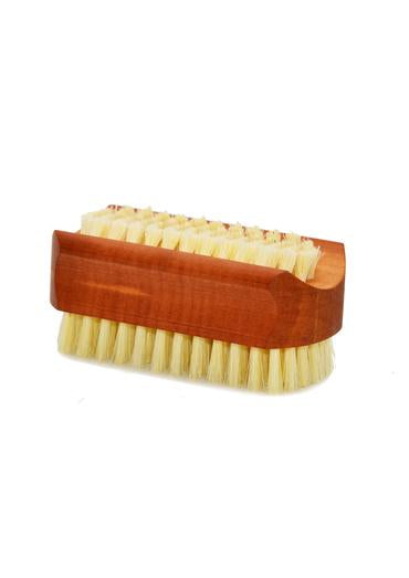 St James Shaving Emporium oiled pearwood nail brush with natural bristles