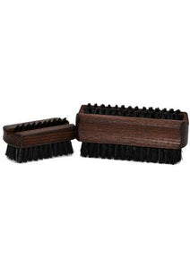 St James Shaving Emporium oiled thermowood nail brush with natural black bristles