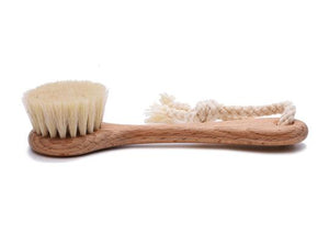 St James Shaving Emporium natural bristle face brush
