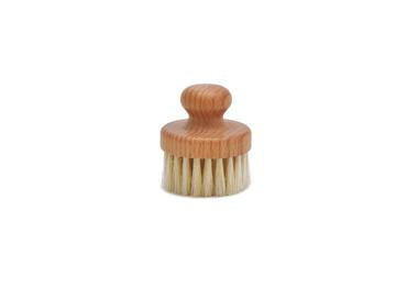 St James Shaving Emporium natural bristle round face brush