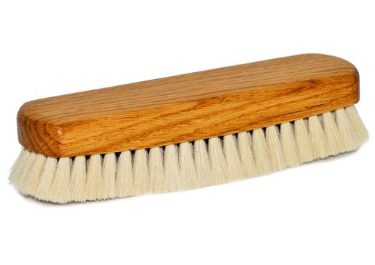 St James Shaving Emporium shoe buffing brush with light bristles