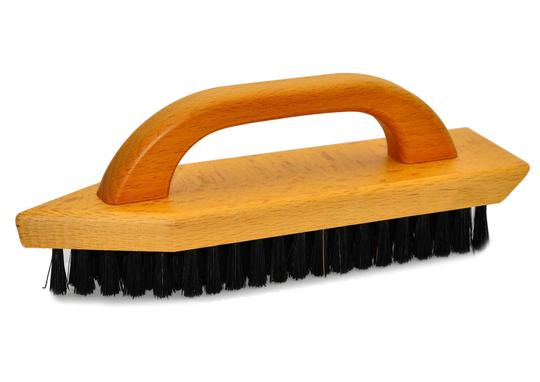St James Shaving Emporium dirt removal shoe brush with handle