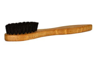 St James Shaving Emporium shoe polish applicator brush with black bristles