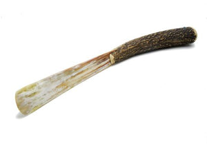 St James Shaving Emporium stag antler shoehorn