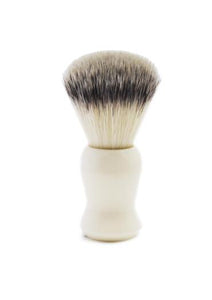 St James Shaving Emporium 501 shaving brush with synthetic fibre bristles and ivory handle
