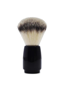 St James Shaving Emporium 503 shaving brush with synthetic fibre bristles and black handle