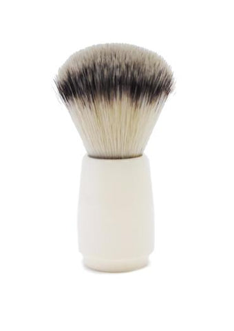St James Shaving Emporium 503 shaving brush with synthetic fibre bristles and ivory handle