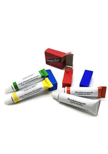 Strop paste tubes and blocks