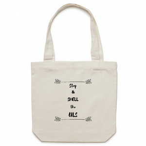 Stop & Smell the Oils | Tote Bag - Melissa Mitchell Health & Wealth