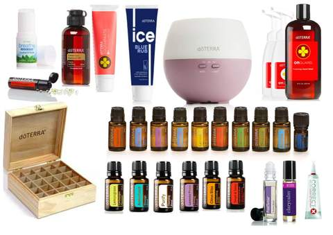 Nature's Solution Kit doTERRA Wholesale - Melissa Mitchell Health & Wealth
