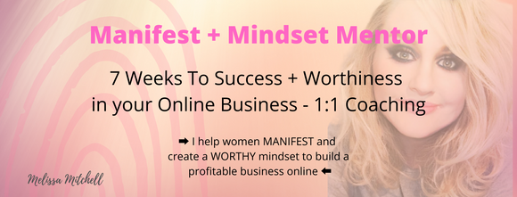 7 Weeks To Success + Worthiness in your Online Business - 1:1 Coaching