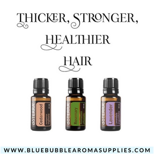 Essential Oil Trio - Healthy Hair Pack - Melissa Mitchell Health & Wealth