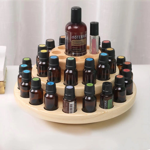 Wooden Essential Oil Stand - Melissa Mitchell Health & Wealth