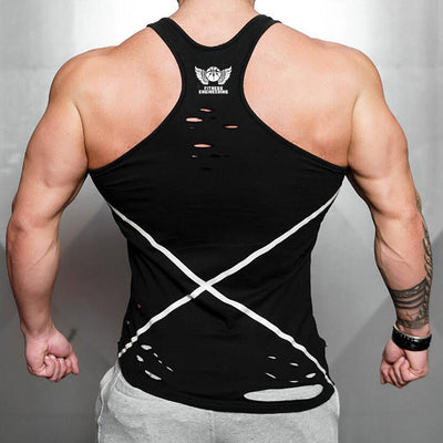 Men's Asymmetrical Tank V2-FITNESS ENGINEERING