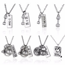 Gym Necklace & Pendant's