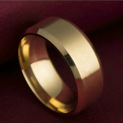 Men's Titanium Ring-FITNESS ENGINEERING