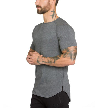 Men's Curved Hem Tee's