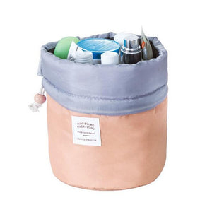 Barrel Cosmetic Travel Bag